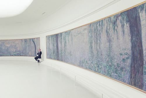 phil0kalia: The Monet room in the Musee de L'Orangerie - one of the most hauntingly tranquil places on earth.