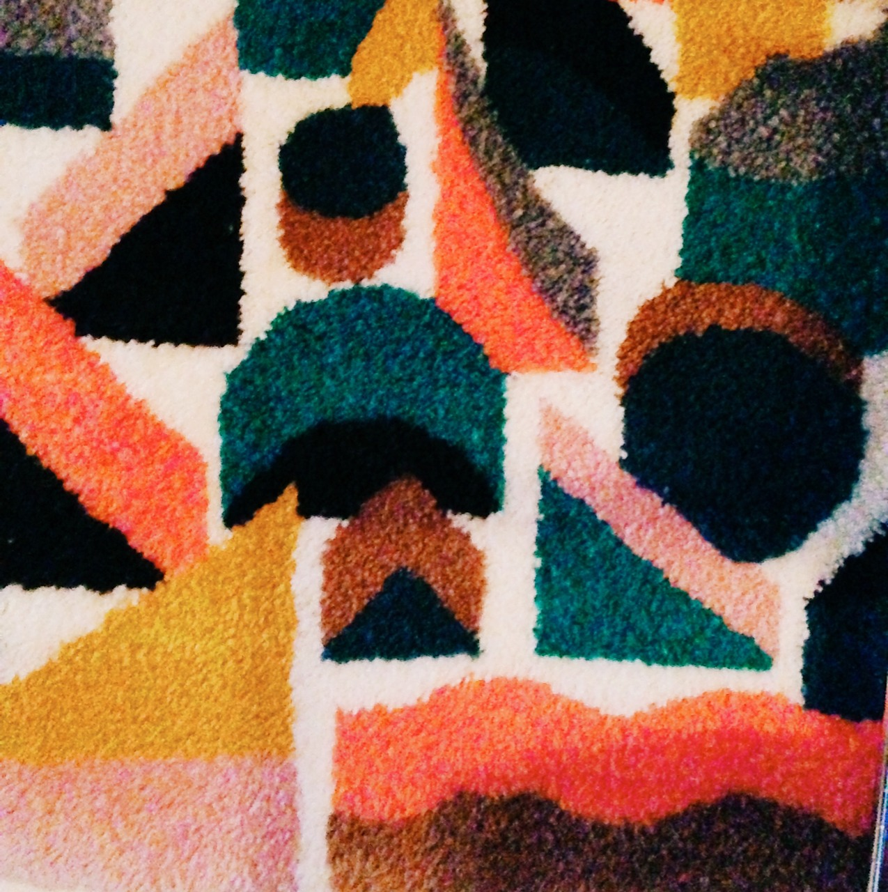 damiencorrell :     Can't See Anything Rug (detail)