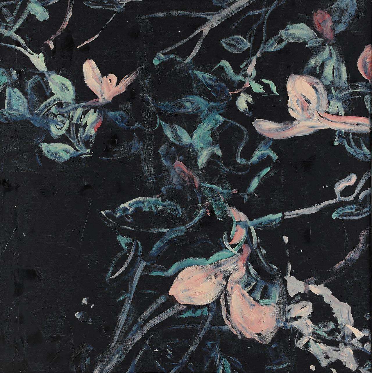 patternbase :     Ola Billgren,  Nattlig växt III  [Nocturnal plant III], 1991.