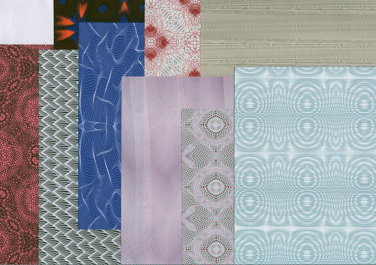 vuls :      Endpaper designs by Hansje van Halem