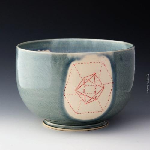 Sacred Geometry via  ClaraLanyiCeramics