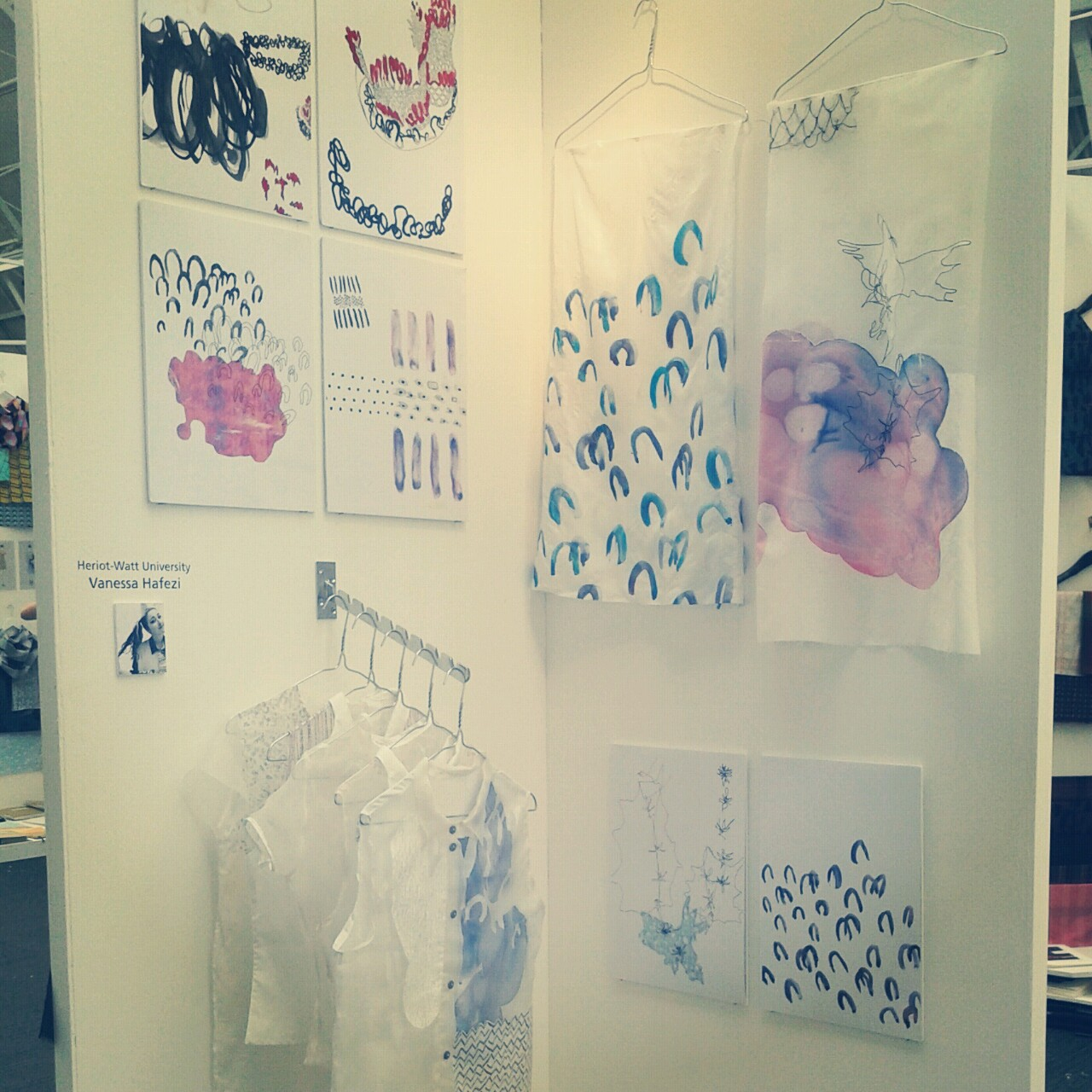 My stand at New Designers 2013!