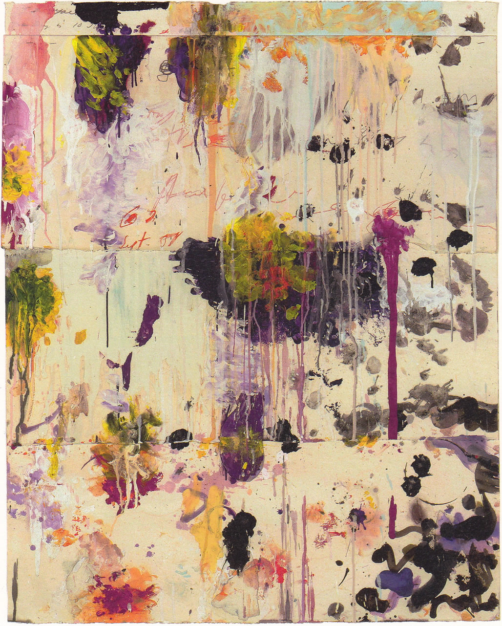 Cy Twombly, Untitled (2001)