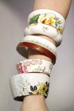Teacup Bracelet by Anthropologie