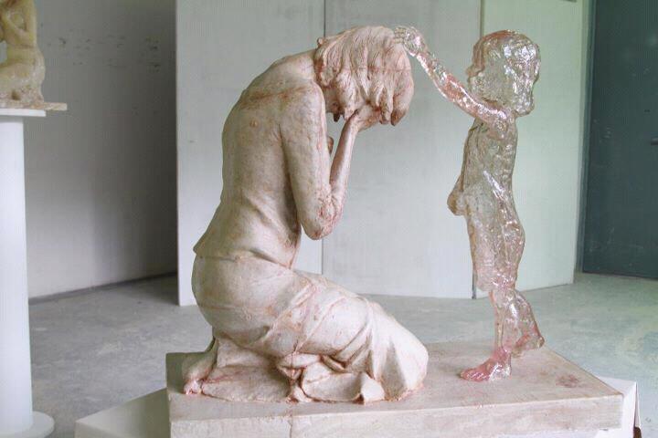 """The Child Who Was Never Born"" sculptor:Martin Hudáčeka location: Slovakia"