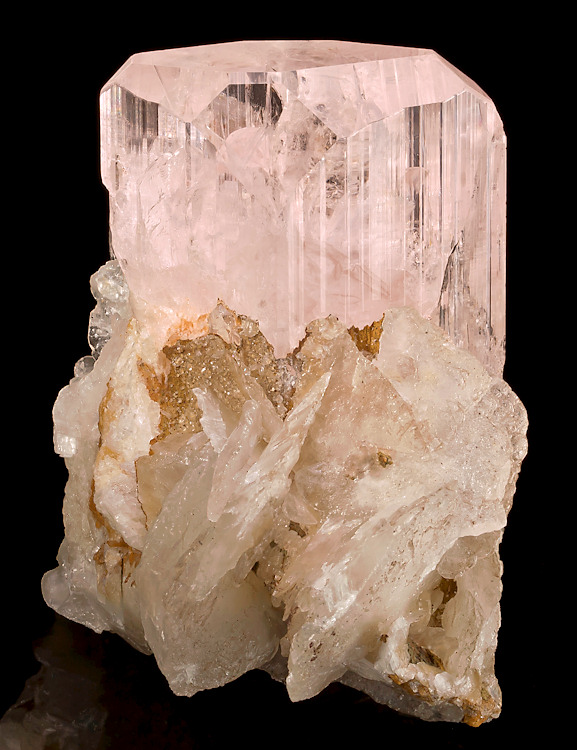 mineralia: Danburite with Calcite from Mexico by Exceptional Minerals