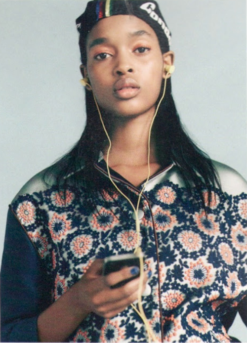 Marihenny Rivera Pasible by Nick Dorey in i-D spring 2012