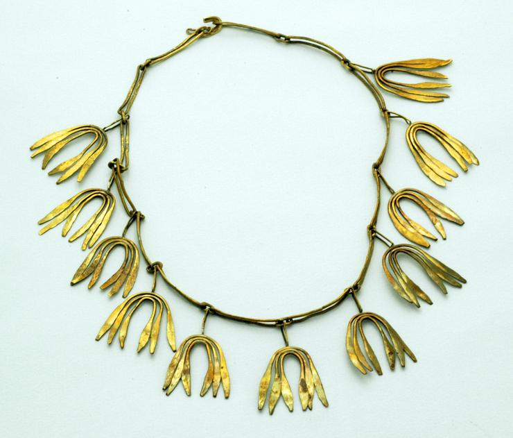 Harry Bertoia necklace circa 1940