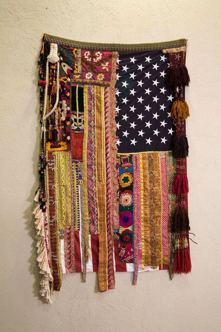 Sarah Rahbar  -  Memories Without Recollection, Flag #19 , 2008