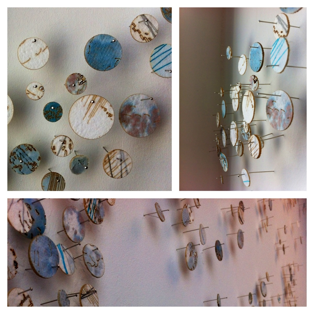 Lasercut circles by hannahwells