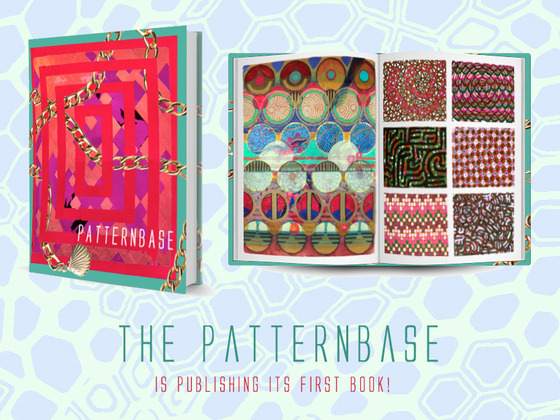 Kickstarter - PATTERNBASE: A Book of Contemporary Textile & Surface Design If you're a textile designer or just love print, you should know about this wonderful project. Patternbase are compiling a gorgeous book with the works of talented artists of all levels of industry (including students); not only can you send your work for consideration but you can also help by donating, they're so close to their goal!