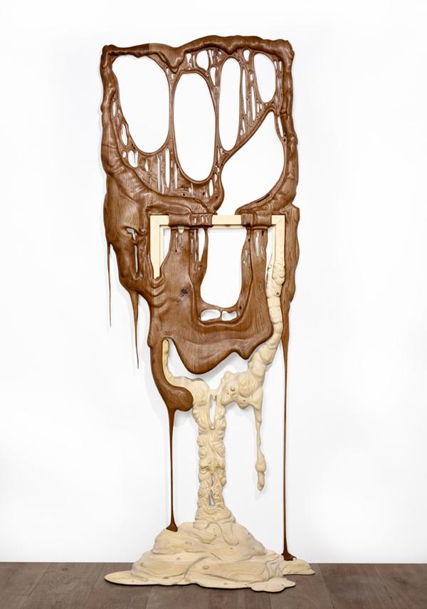 Handmade wooden sculptures by  Bonsoir Paris  /  Adrien Coroller