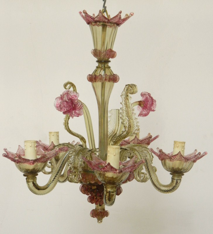 Murano glass chandelier £480