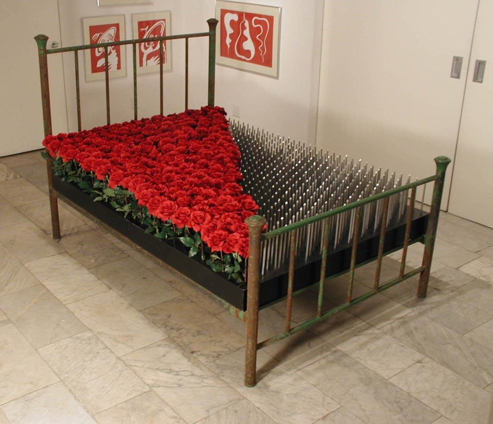 Edwina Sandys,  Marriage Bed , 2001