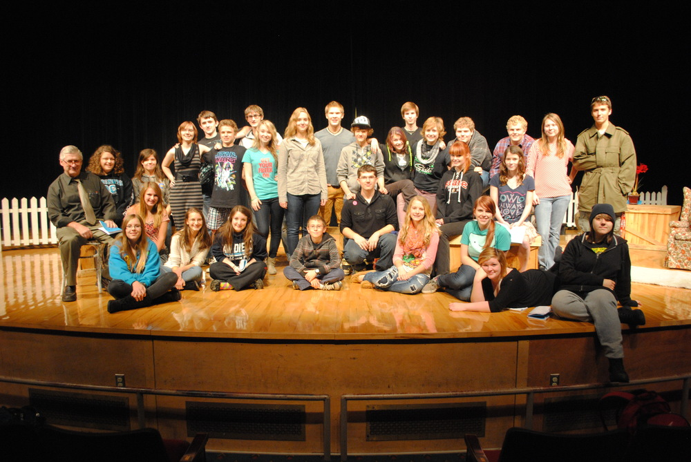"Wadena-Deer Creek High School will present the musical production, ""Don't Stop Believin'!"" The play is  directed by Jay Patterson, WDC English teacher. Front row, sitting, from left: Grace Mertens, Sandra Kucharczyk, Hope Norenberg, James Anderson, Taylor Dirks, AJ Tollefson, Hope Dumpprope and Hannah Wedde; second row: Jay Patterson, drama director; Beth Schmitz, David Wegscheid, Sam Kirkland and Maizie Miller; third row: Anna Kraemer, Tabetha Baker, Sarah DeCock, Alex Lorentz, Anissa Mench, Marie Hunt, Mitchel Haman, Cheyenne Houts, Katelyn Windels; back row: Michael Small, Adam Leverson, Josiah Berger, Jordan Geiser, Aaron Beck, Caleb Monson, Alyssa Gilster and Derek Garcia."