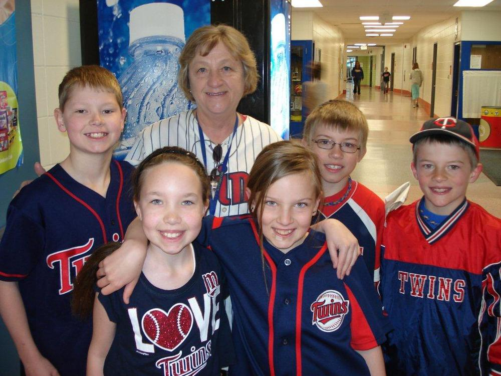 Every spring, Wadena-Deer Creek Elementary students and staff wear their Twins attire to celebrate the start of the season.