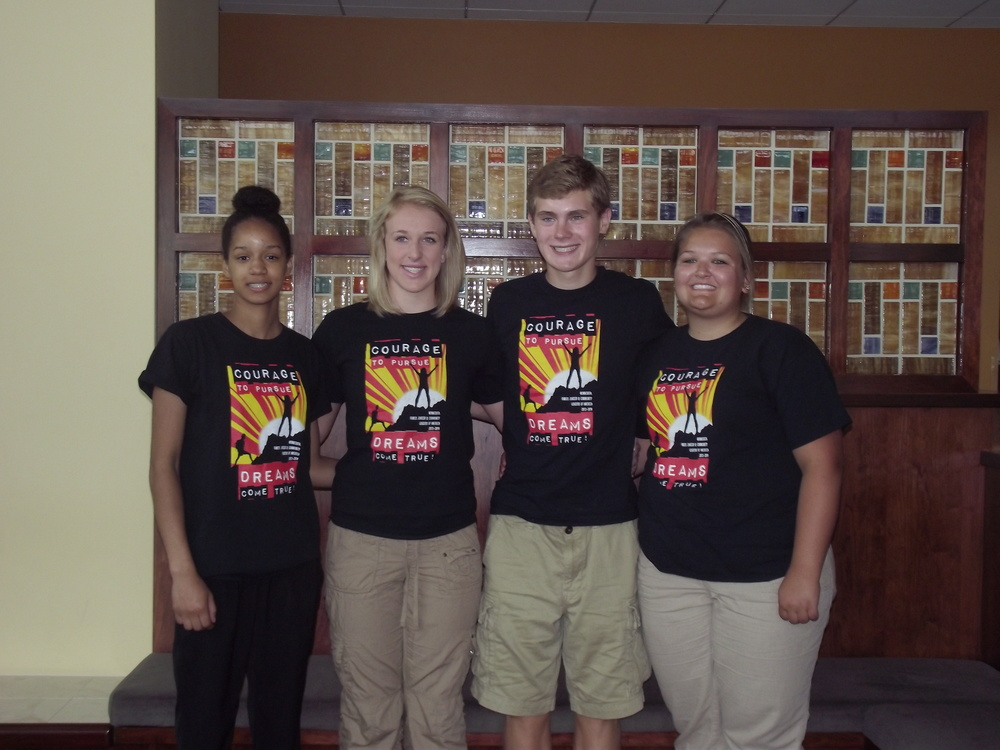 MN FCCLA Region 6 officer team, from left: Kayla Hanson, treasurer, WDC;  McKenna Larson, secretary, Herman Norcross; Andrew Backman, president, Herman-Norcross; and Gracie Vitthauer, vice president, Wheaton. Courtesy photos.