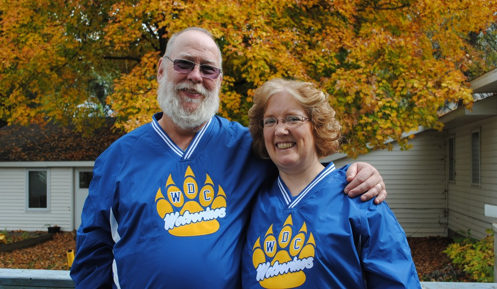 Craig and Tammie Klawitter will serve as grand marshals for Wadena-Deer Creek's homecoming parade on Friday. As part of the Homecoming festivities, the grand marshals have the special honor of leading the parade as it travels through downtown Wadena and back to the WDC campus. (Photo by Dana Pavek, WDC Schools)