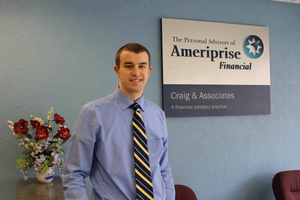 After earning a business degree at Bemidji State, Ryan Nelson accepted a position at Ameriprise Financial in Wadena. He said coaching basketball is his way of giving back to the sport he enjoyed in high school.