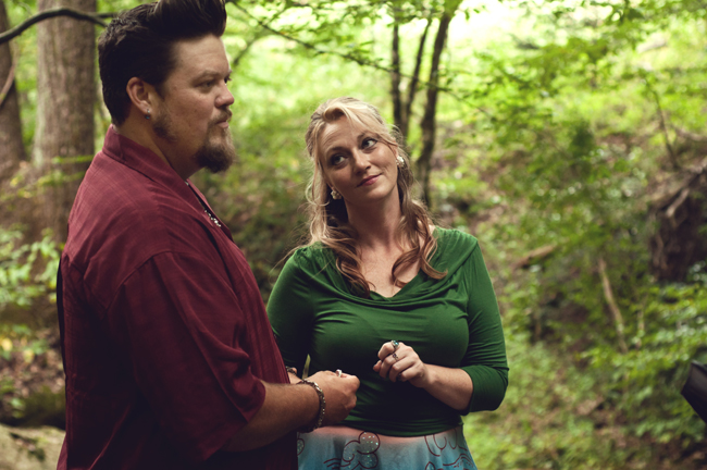 Photo Says Hello | Rockabilly Elopement | Tennessee