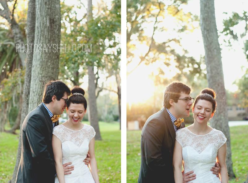 Photo Says Hello | Vintage Book Wedding | Jacksonville Wedding Photographer