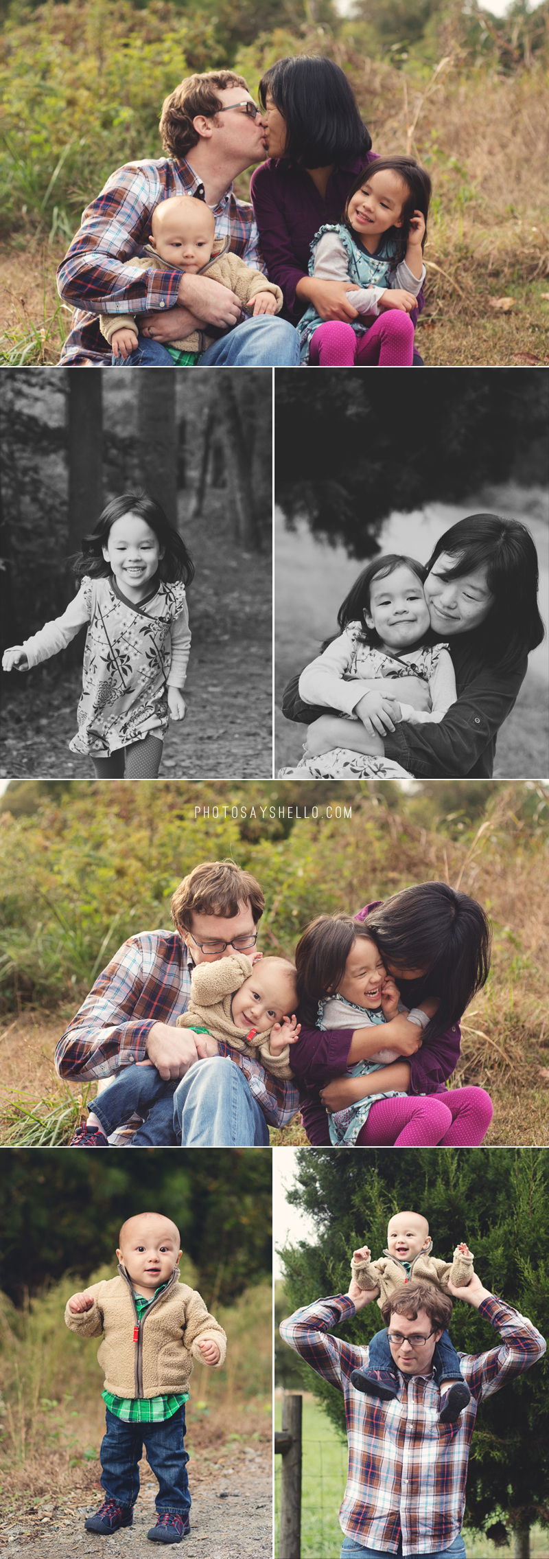 Lawrenceville GA Family Photographer | McDaniel Farm Park | Fall Family Session | Holiday Photo Session