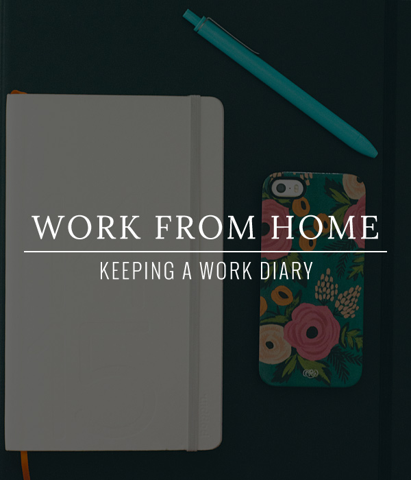 Start a work diary or journal your first week on the new job