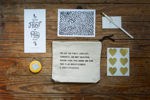 Some favorites from the Maiedae Swag Bag 2014