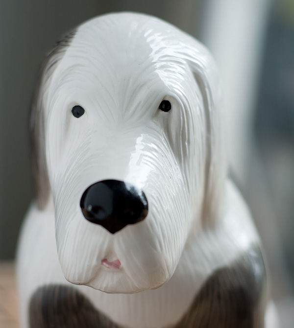 sheep dog bookend