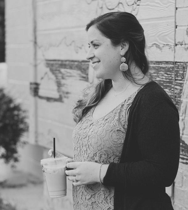 Jenna and coffee from Joe's East Atlanta Coffee Shop