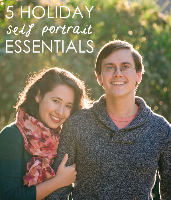 5 holiday self portrait essentials for holiday photo cards