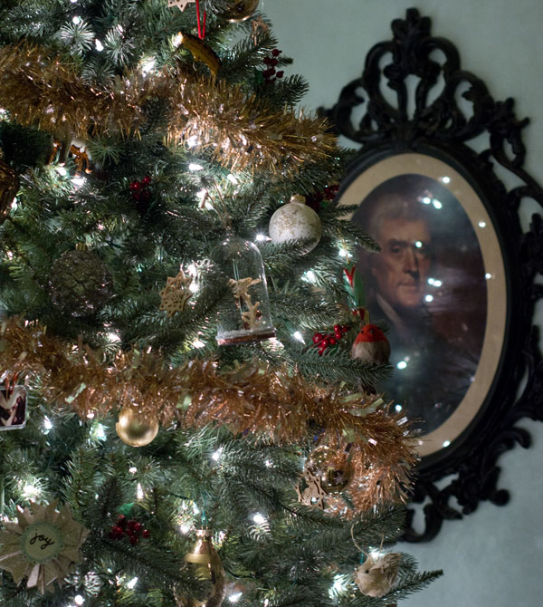 Thomas Jefferson & Our Christmas Tree