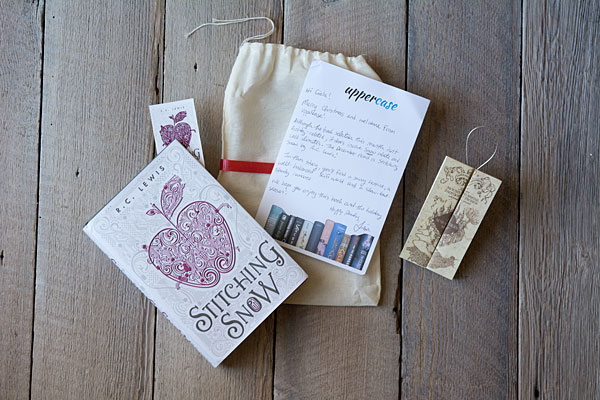 December's box for Uppercase Box, a young adult book subscription box company.