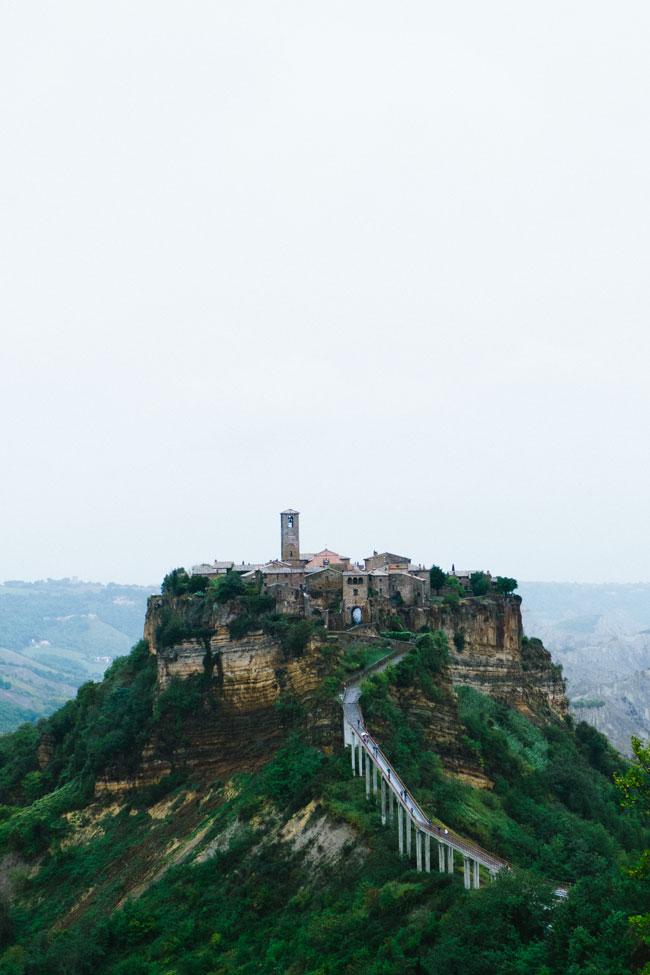 Civita di Bagnoregio in Italy - the city that must live