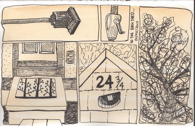 Devoir pour le cours Stretching de la Sketchbook Skool