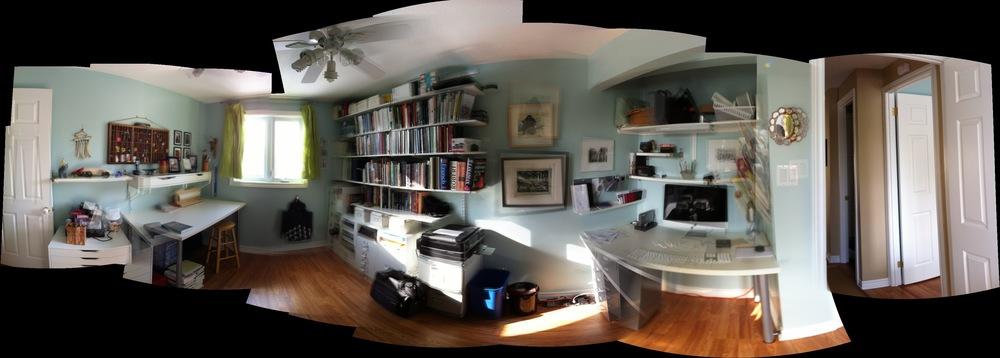 Mon bureau avant.