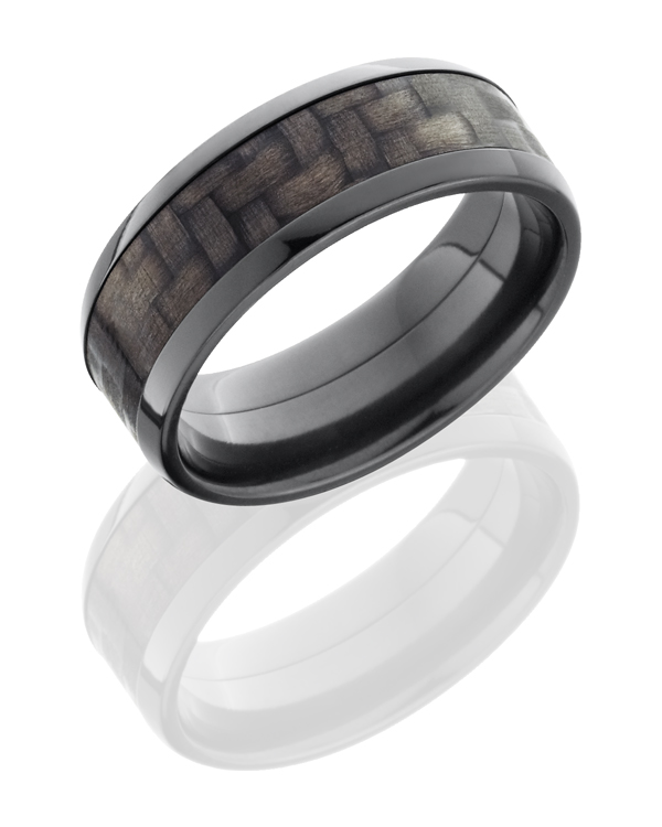 Beveled Black Zirconium