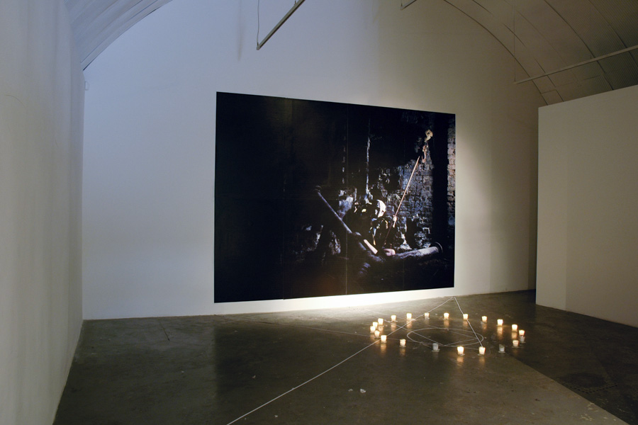 WEBM. Stone, FutureHindsight, 2007, Installation, The Images Spoke Of Drama... (4).jpg