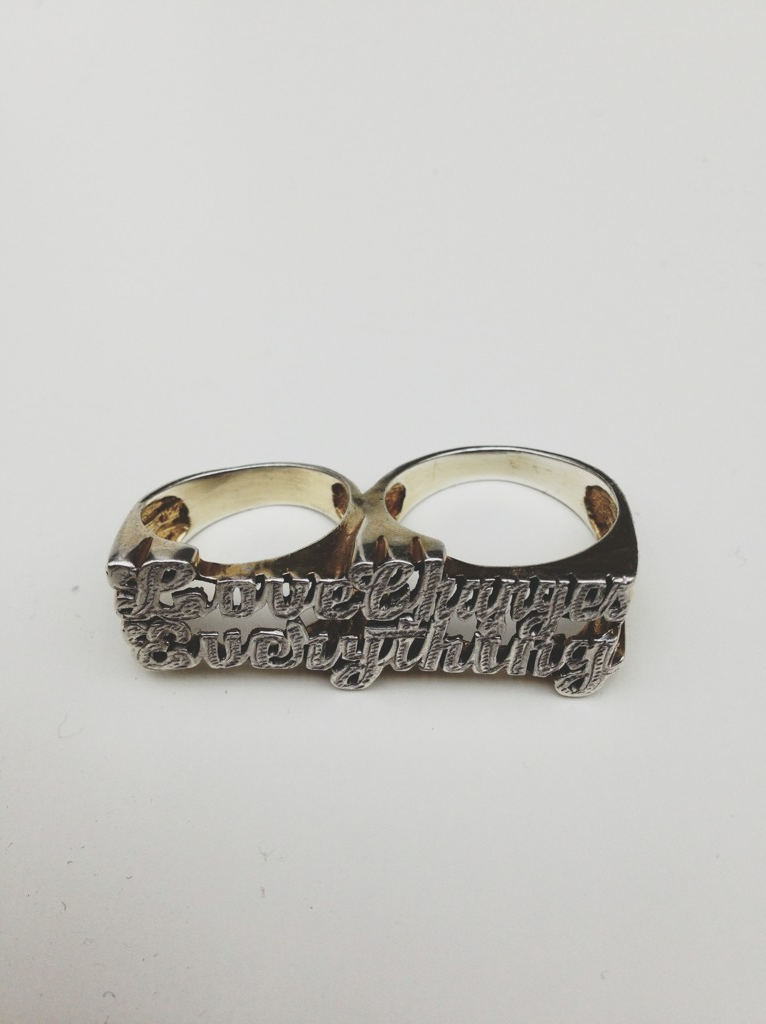 Love Changes Everything (Ring) - Gold and Silver - 2012 - Matthew Stone (Photo credit: Mr Wize)