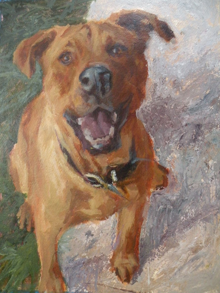 Dog paintings: Denver Colorado