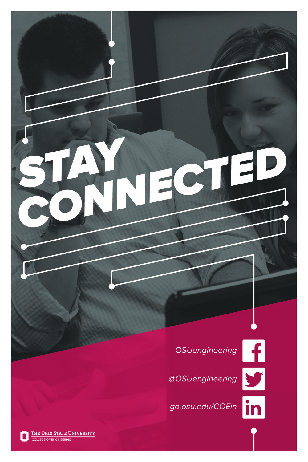 Stay Connected OSU Engineering Poster