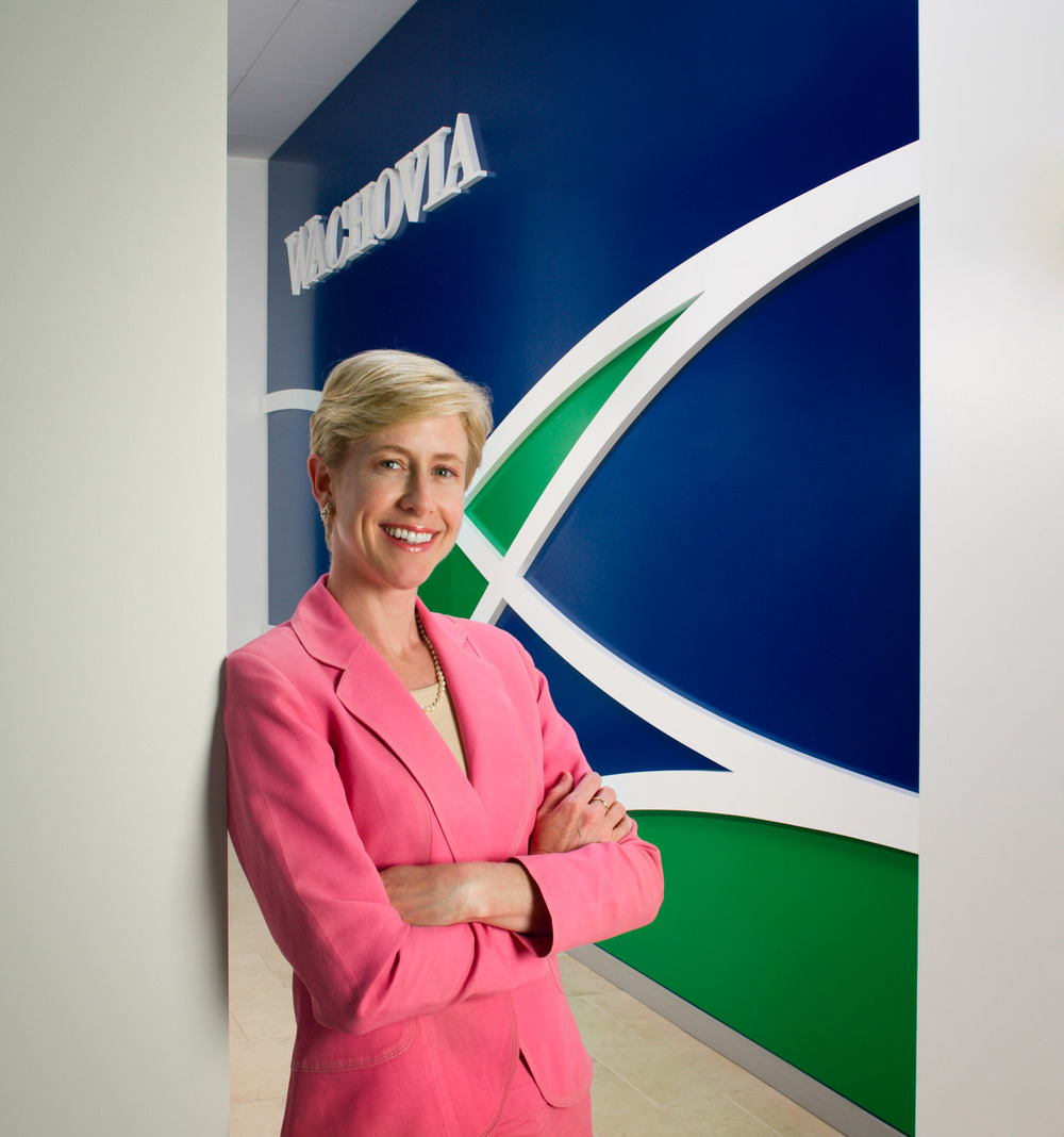 Amy Pitt (2008), Director & Senior VP of Wachovia Bank