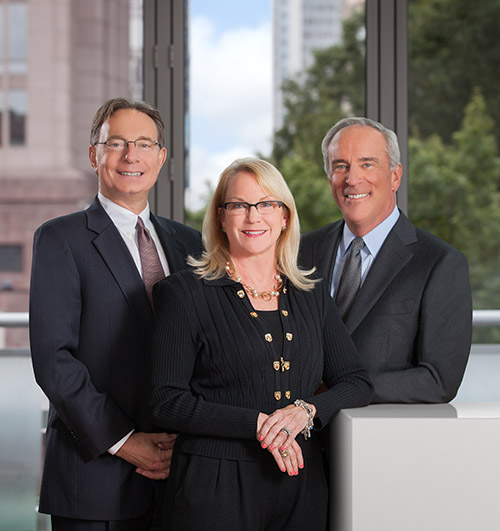 Charlotte executives photographed for annual report photography.