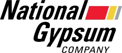 This is the National Gypsum logo.