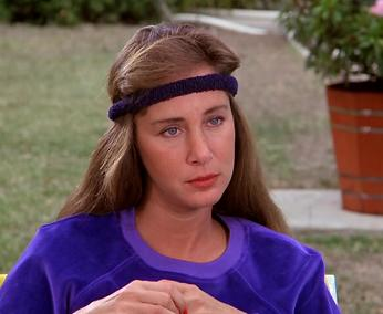 Head bands are horrible, especially when they are purple!