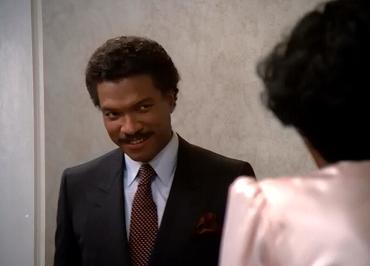 Why is Lando tilting his head like that? To sexify himself!