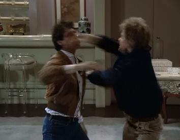 Dex, you can't beat up by a fag!