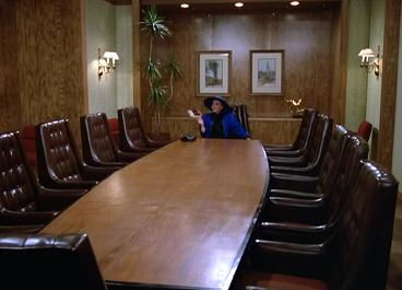 Alexis cannot wait for her return to the Denver Carrington Boardroom