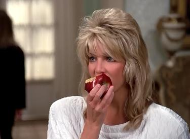 At least this is a healthier apple, Sammy Jo