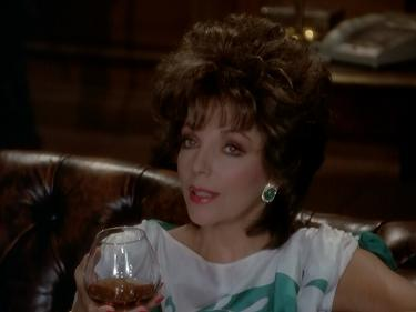 Now that Alexis is in the mansion, it is brandy and not martinis.